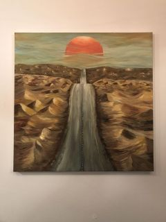 Sunset Painting Wall Art