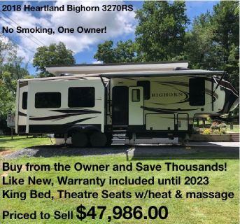 Buy from the Owner - 2018 Heartland Bighorn 3970RD