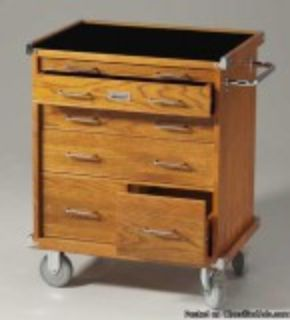 Roller cabinet tool box for tradesman artists and mechanics