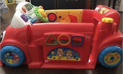 Fisher-Price Laugh And Learn Crawl Around Car $10