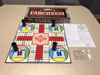 LIKE NEW: Parcheesi Board Game