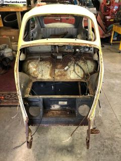 1960 bug body front clip