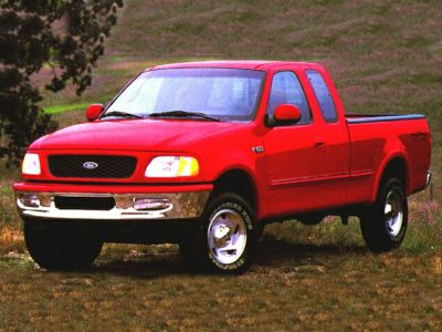 1999 Ford F-150 Work (Red)