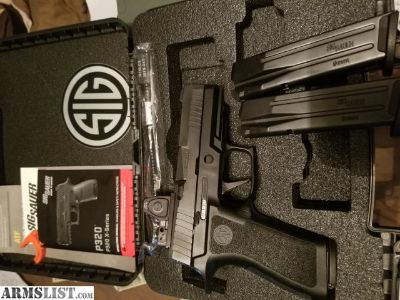 For Sale/Trade: Sig p320 Xcarry