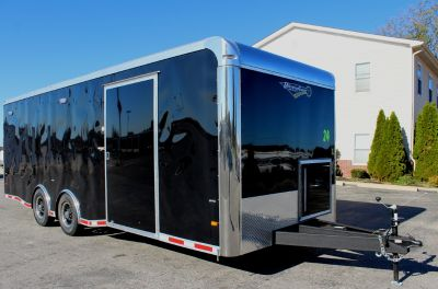 24' Race Ready Trailer! Finished Interior Red Cabs!