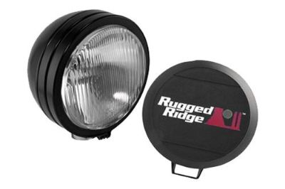 Sell Rugged Ridge 15205.02 - Off Road Black Steel HID Fog Light motorcycle in Suwanee, Georgia, US, for US $140.11