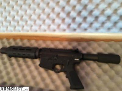 For Sale: AR-15 PISTOL AR15