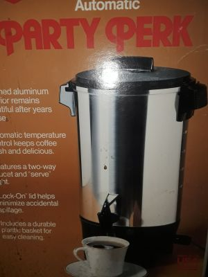 Like New 12-30 cup coffee maker