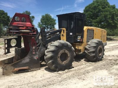 2012 Cat 563C Wheel Feller Buncher