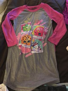 Shopkins Nightgown size 10/12