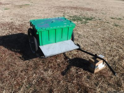 Bicycle Trailer { Check out pictures } Christopher Metcalfe Creations