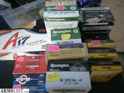 For Sale: Factory Ammo