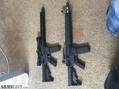 For Sale/Trade: 2 Mid- high end AR15s - looking to shoot new things