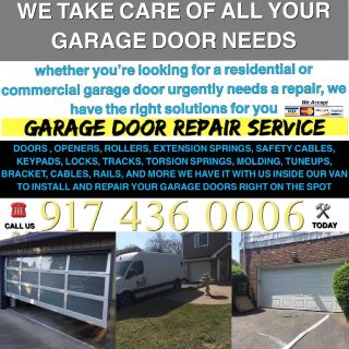 Garage door repair and installation service New York