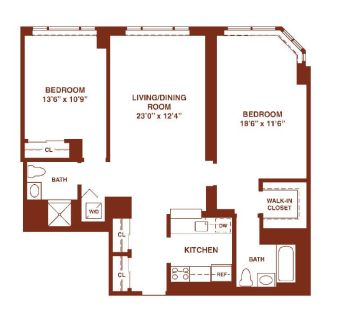 $8760 2 apartment in Jersey City