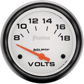 "Purchase AutoMeter 5891 Phantom 2-5/8"" Voltmeter Gauge 8-18V motorcycle in Suitland, Maryland, United States, for US $69.90"