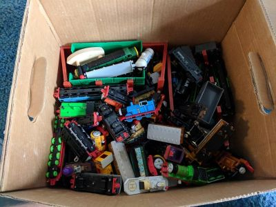 Thomas the Tank Engine trains and track