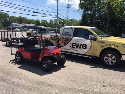 2018 E-Z-Go Freedom TXT Shuttle 2+2 Electric Golf Golf Carts Exeter, RI