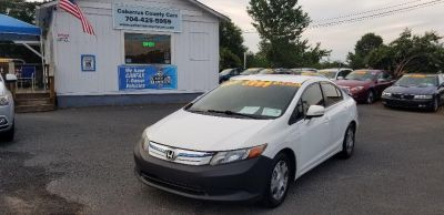 2012 Honda Civic Hybrid w/Leather w/Navi (White)