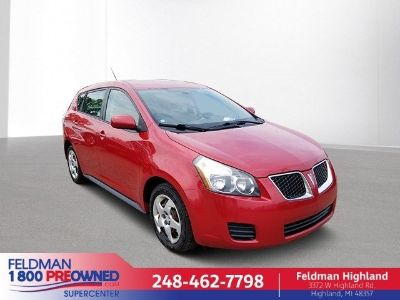 2009 Pontiac Vibe 1.8L (red hot metallic)