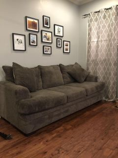 Charcoal couch - Great condition!