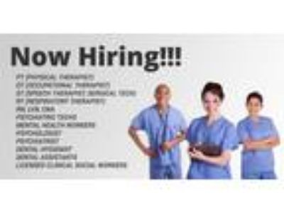 RN, LVN, CNA, PT, OT, ST, RT, and ALL Allied Professionals with 1 yr exp!