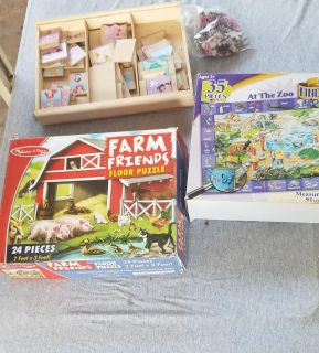Puzzles, arts and crafts