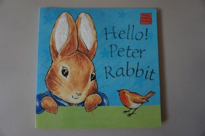 Hello Peter Rabbit Touch and Feel Board Book