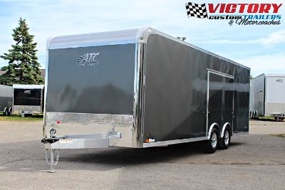 ATC 8.5'x24' Aluminum Car Hauler w/ Escape Door