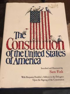 The Constitution of the United States of America 1st Edition 2006 Sam Fink