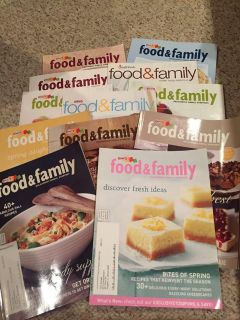 Food and family magazines
