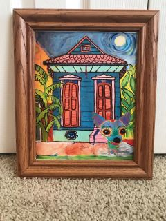 New Orleans hand painted picture