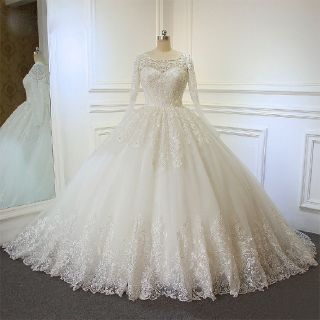 Stacy's Elegant Princess Wedding Gown