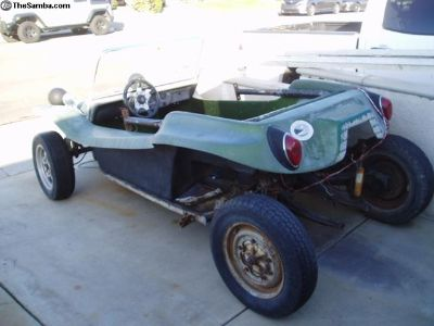Complete Manx stlye buggy body w / extras
