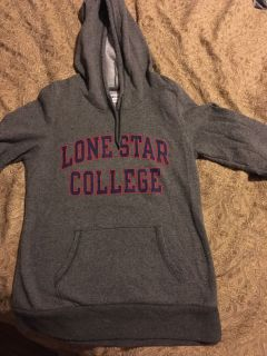 Woman s hoodie excellent condition. Champion brand size med