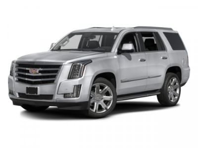 2016 Cadillac Escalade Luxury (Crystal White Tricoat)