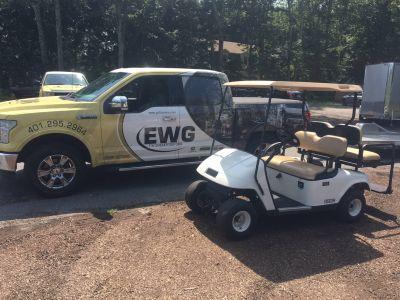 2013 E-Z-Go Shuttle 2 + 2 TXT Golf Golf Carts Exeter, RI