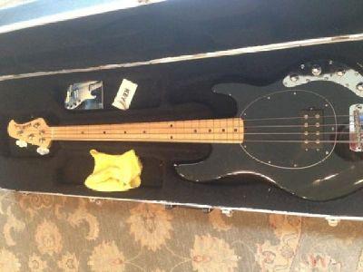 $900 Ernie Ball Stingray Bass