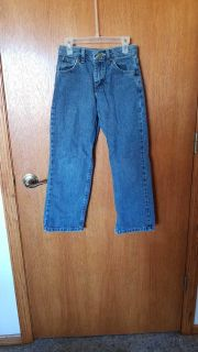 Boys size 10 jeans with adjustable waist