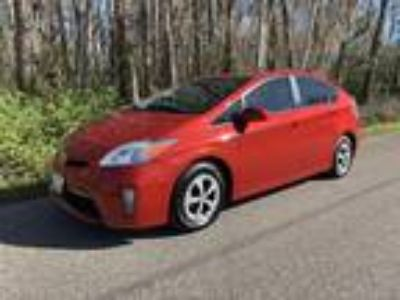 2012 Toyota Prius Hybrid FOUR Leather P Seat Navigation JBL Camera Bluetooth...