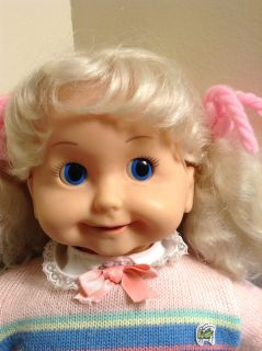 Vintage 1986 Playmates Talking Cricket Doll with Director's Chair