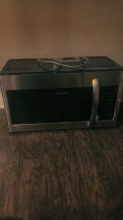 New Stainless Microwave