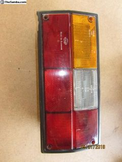 vanagon left side tail light lens A-2