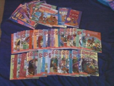 Lot of 51 Scooby Doo Books for Kids