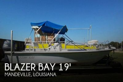 2013 Blazer Bay 19 Center Console - 1960 Bay Boat