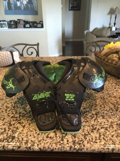 All Star shoulder pads with back protector