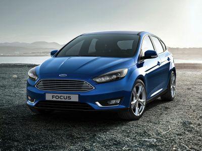 2016 Ford Focus Titanium (Gray)