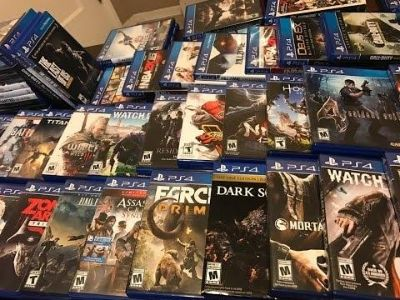 Looking for play station 4 games at yard sale price not store price or game stop prices no sports games