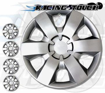 """Purchase Metallic Silver 4pcs Set #226 14"""" Inches Hubcaps Hub Cap Wheel Cover Rim Skin motorcycle in La Puente, California, US, for US $26.85"""
