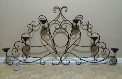 HUGE/METAL/WALL SCONCE..........NEW CONDITION